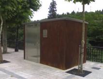 Automatic public toilet, lorke